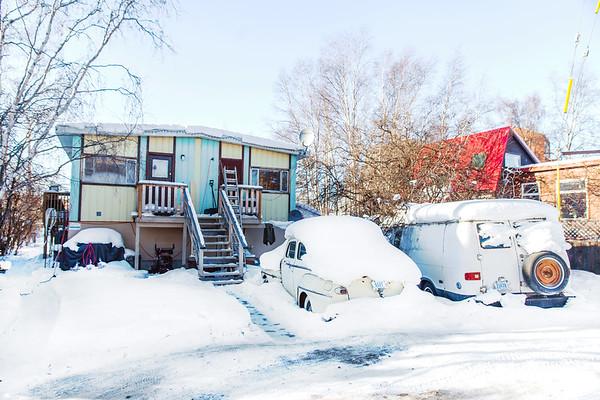 House in Yellowknife / Maison à Yellowknife