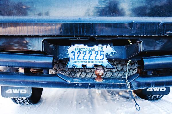 Northwest Territories License Plate