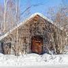 Wooden House in Yellowknife / Maison en bois à Yellowknife