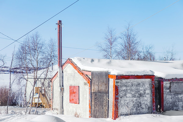 Structure in N'Dilo, Yellowknife