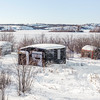 Structures in N'Dilo, Yellowknife