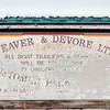 Weaver & Devore shop sign, Yellowknife