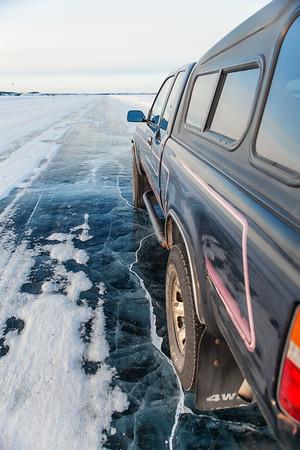 Dettah Ice Road Yellowknife 3