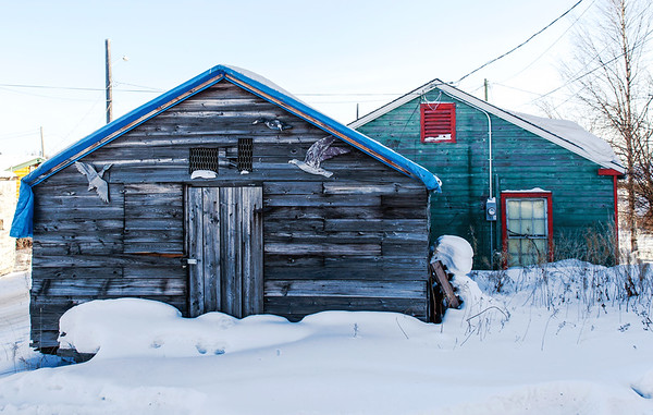 Old Houses in Yellowknife / Vieilles maison à Yellowknife