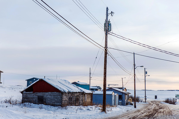 Dettah, a small First Nations village near Yellowknife