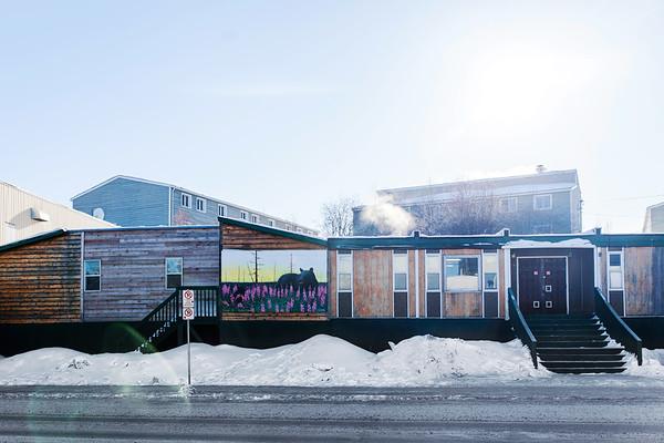 Buildings in Yellowknife / Bâtiments à Yellowknife