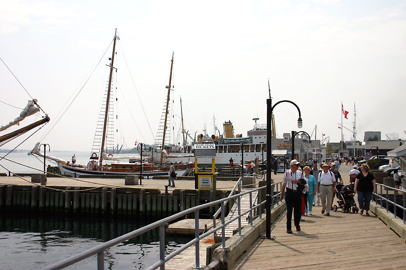 les quais d'Halifax