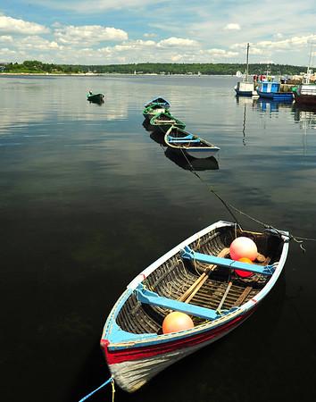 Nova Scotia Row boats - 11X14