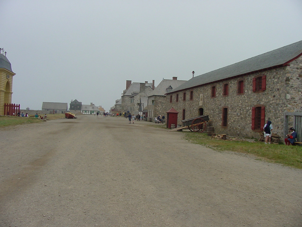 Street Scene from the Fort