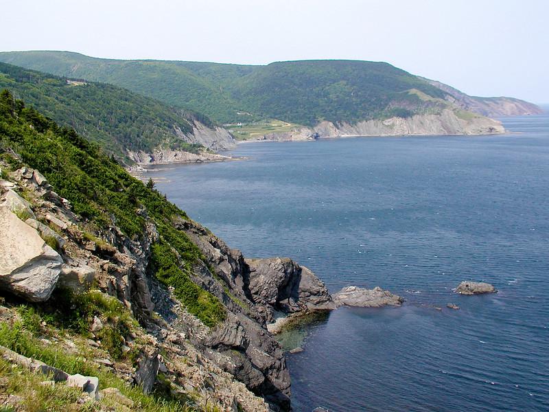 Meat Cove, northern tip of Nova Scotia