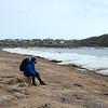 Resting at Apex Beach