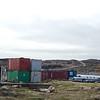 Airplane fuselage at an Iqaluit scrap-yard