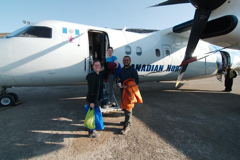 Heading back to Iqaluit