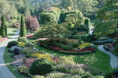 Butchart Gardens (daytime), Victoria, BC