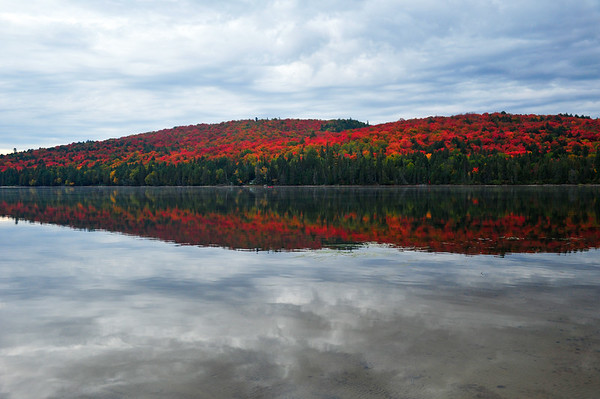 Rock Lake with reflection