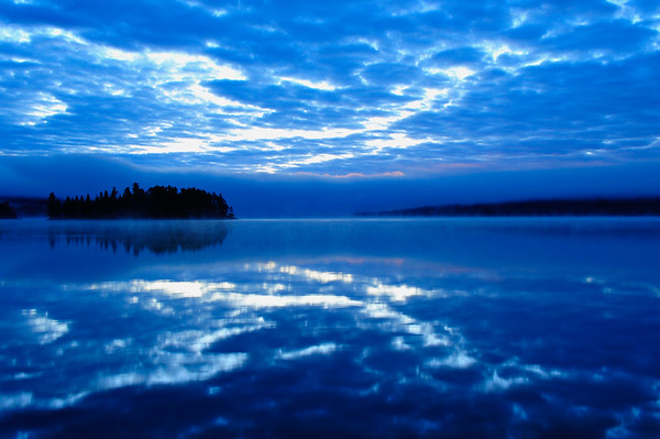 Dark Blue Sunset