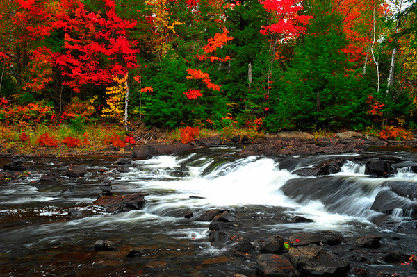 Colorful upper Ragged River