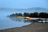 Canoes in the Mist