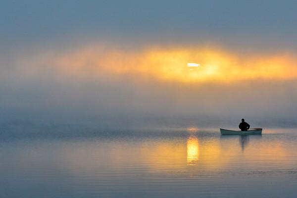Canoeing thru the sun