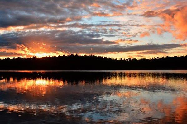 Sunset on Lake Restoule - July 2016