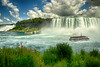 Niagara Falls and Hornblower and American Falls - July 2020