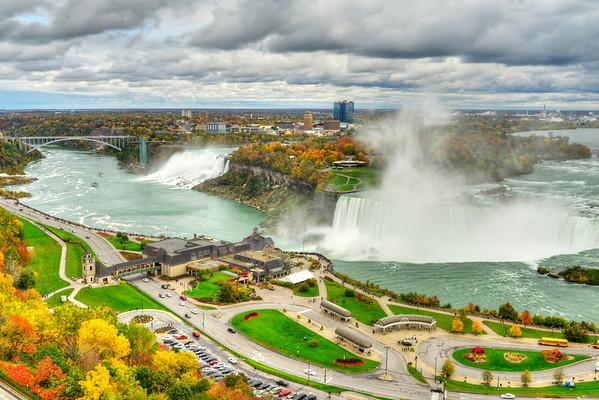 Niagara Falls in HDR - Cover