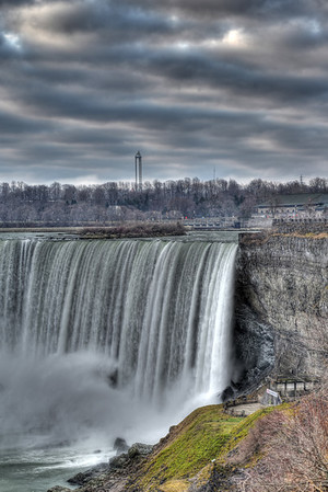 Vertical of CDN Falls at tablerock