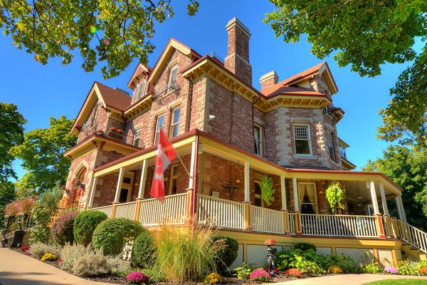 Keefer Mansion Side View