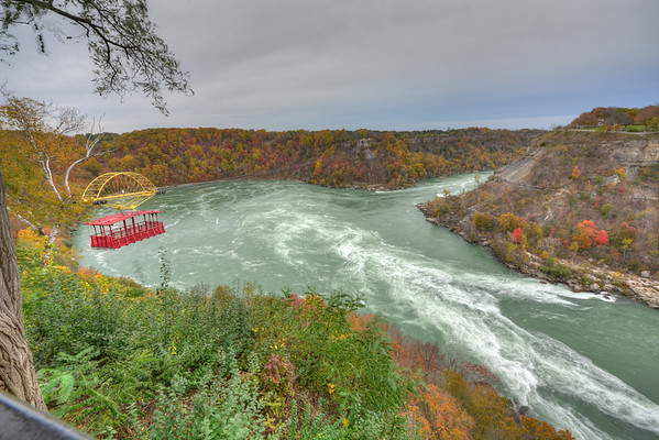 Cable Car and whirlpool Rapids