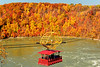 Aerocar and fall colors in Niagara River Gorge - November 2020