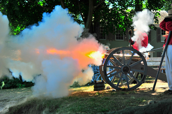 Big bang and fire from Cannon