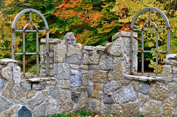 Stone bldg and windows