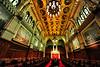 Senate walls and ceiling