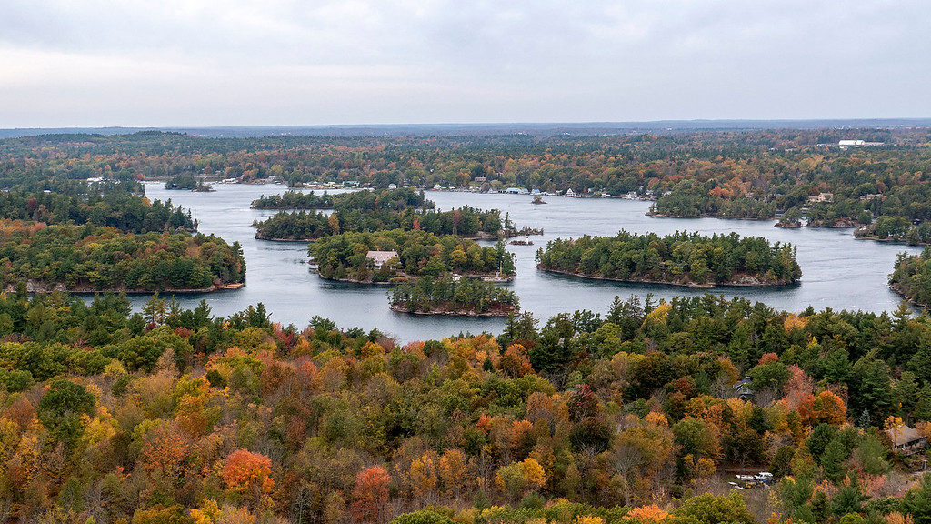 Best travel experiences of 2018: 1000 Islands in the Fall, Canada