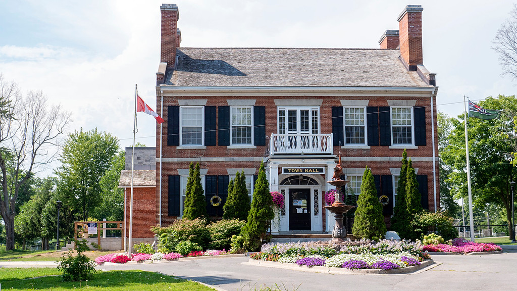 The Gananoque Town Hall