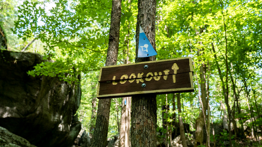 First lookout trail sign