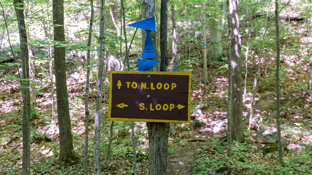 North Loop Trail, Marble Rock Conservation Area
