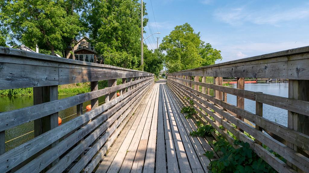 Bridge on the Gananoque Trail System