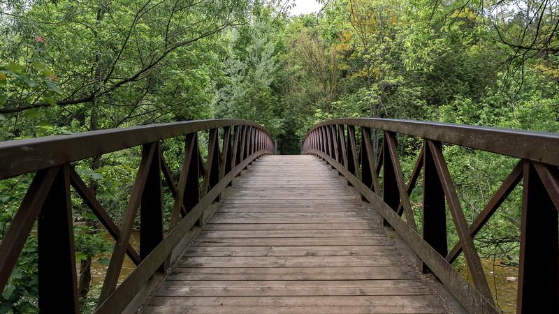 Bridge across the creek in Brantford