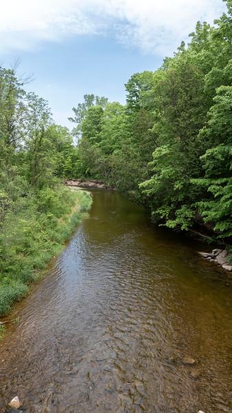 Views overlooking the Creek