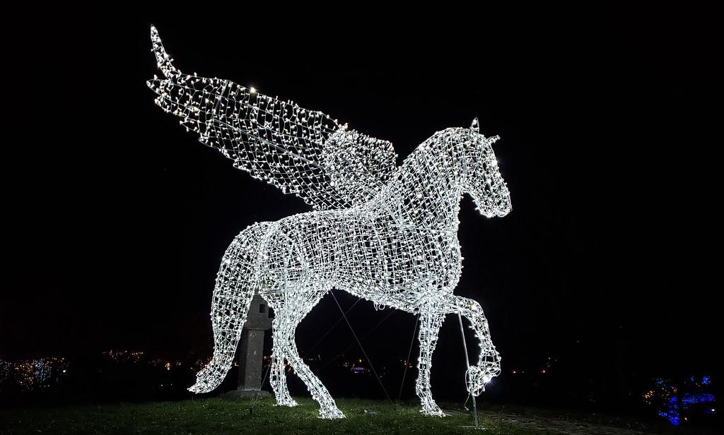 Toronto winter festival - Christmas lights in Toronto