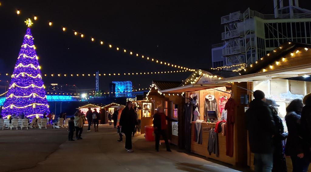 Toronto Christmas Market at Ontario Place - Aurora Winter Festival