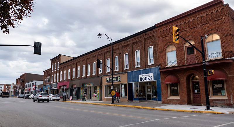 Downtown Brighton Ontario