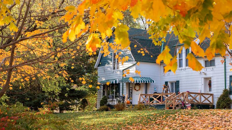 Brighton Ontario in the fall - Ontario road trips