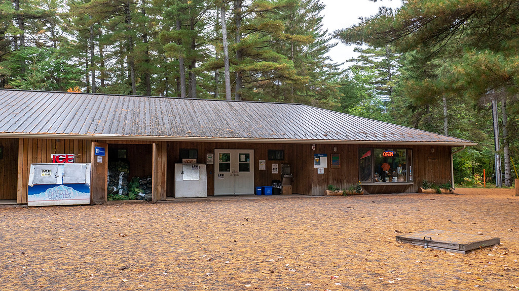 The camp store at Bonnechere Park campgrounds