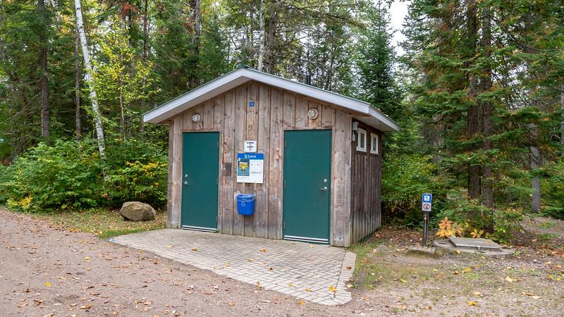Comfort Stations at Bonnechere Provincial Park