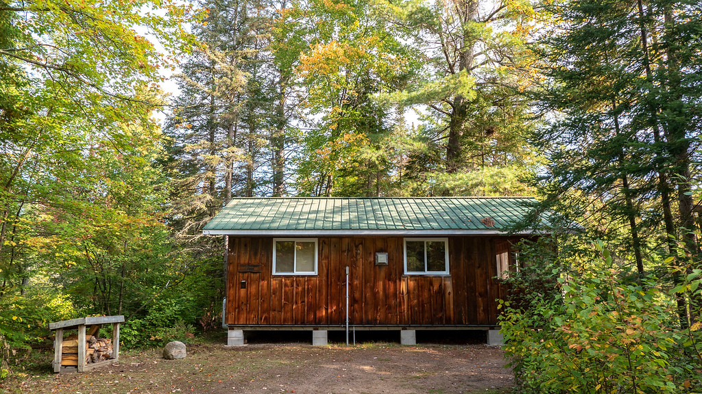Rustic Cabin at Bonnechere Provincial Park
