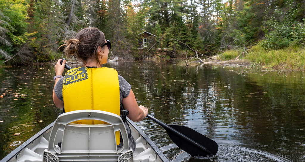 Canoeing on the Bonnechere River - Bonnechere Provincial Park