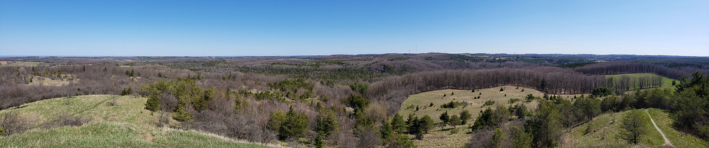 Murphy's Pinnacle Side Trail Panoramic View