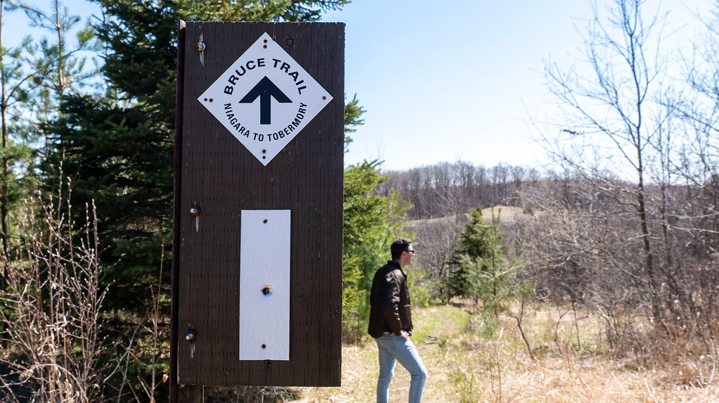 The Bruce Trail at Boyne Valley